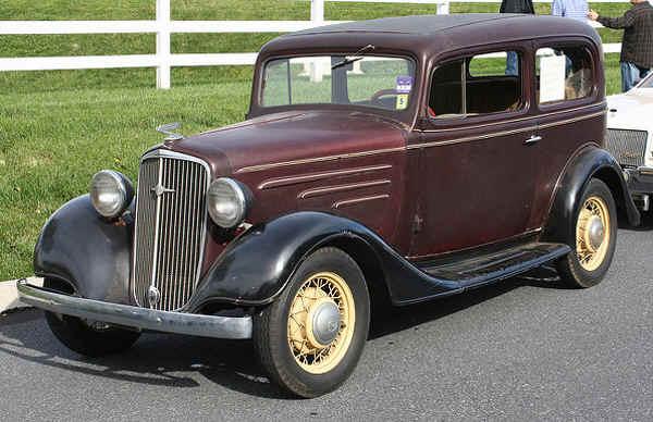 New page 26 for 1934 chevrolet 2 door sedan